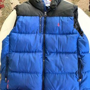 Men's Polo Puffer Vest
